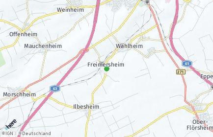 Stadtplan Freimersheim