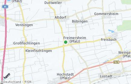 Stadtplan Freimersheim (Pfalz)