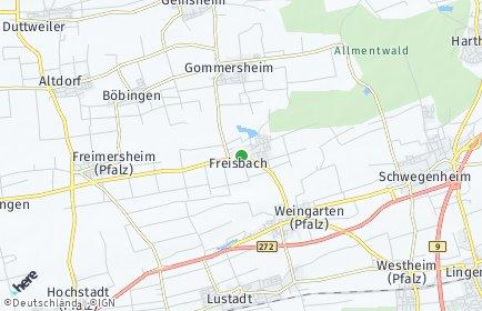 Stadtplan Freisbach