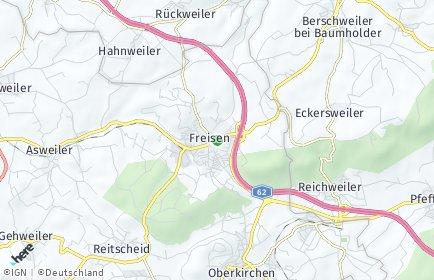 Stadtplan Freisen