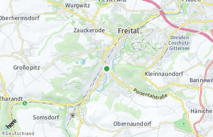 Stadtplan Freital