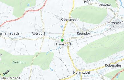 Stadtplan Frensdorf