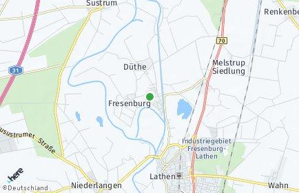 Stadtplan Fresenburg