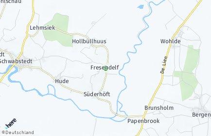 Stadtplan Fresendelf