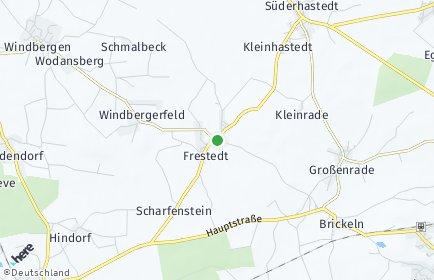 Stadtplan Frestedt
