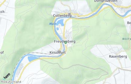 Stadtplan Freudenberg (Baden)