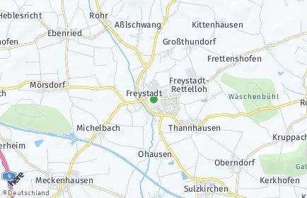 Stadtplan Freystadt