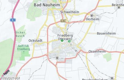 Stadtplan Friedberg (Hessen)