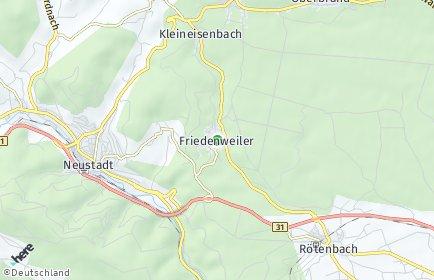 Stadtplan Friedenweiler