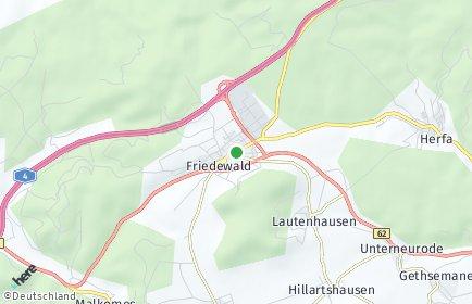 Stadtplan Friedewald (Hessen)