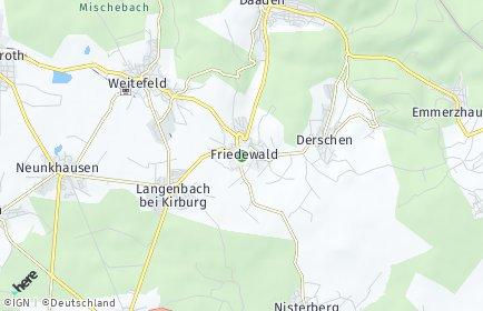 Stadtplan Friedewald (Westerwald)