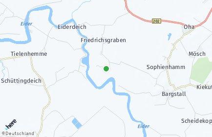 Stadtplan Friedrichsgraben
