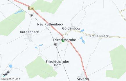 Stadtplan Friedrichsruhe