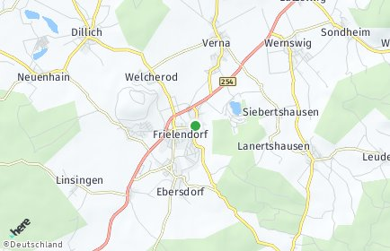 Stadtplan Frielendorf