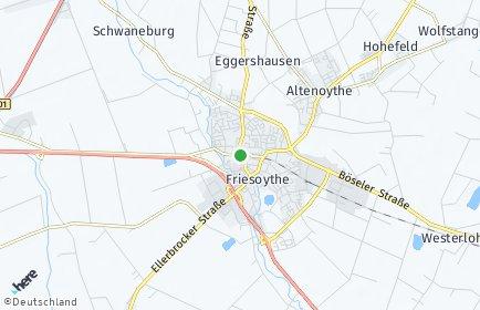 Stadtplan Friesoythe