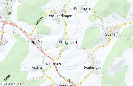 Stadtplan Frittlingen