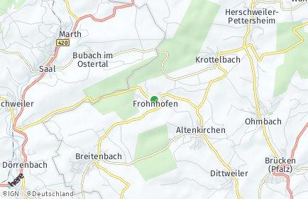 Stadtplan Frohnhofen