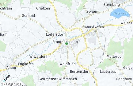 Stadtplan Frontenhausen