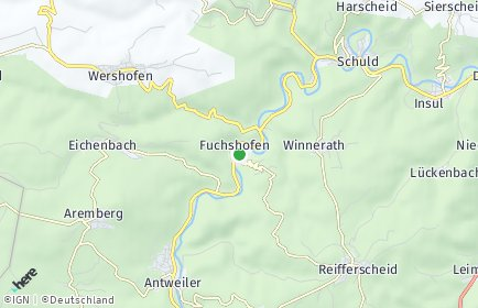Stadtplan Fuchshofen