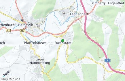 Stadtplan Fuchsstadt