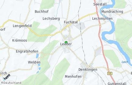 Stadtplan Fuchstal