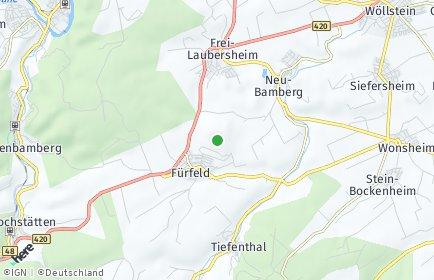 Stadtplan Fürfeld