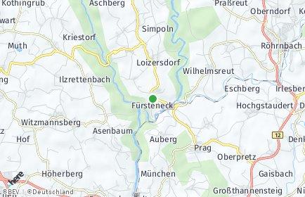 Stadtplan Fürsteneck OT Aschberg