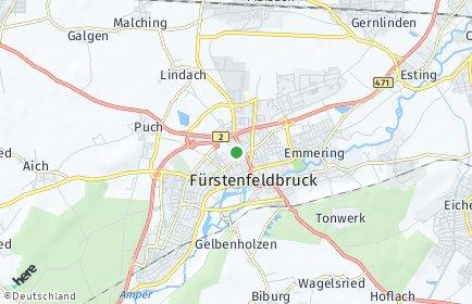 Stadtplan Fürstenfeldbruck