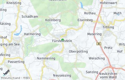 Stadtplan Fürstenstein