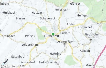 Stadtplan Fürstenzell
