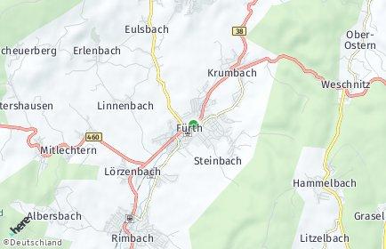 Stadtplan Fürth (Odenwald)
