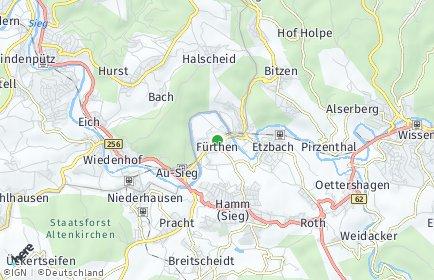 Stadtplan Fürthen