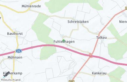 Stadtplan Fuhlenhagen