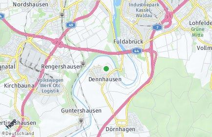Stadtplan Fuldabrück