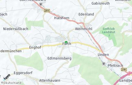 Stadtplan Furth (Niederbayern)