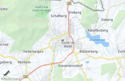 Stadtplan Furth im Wald