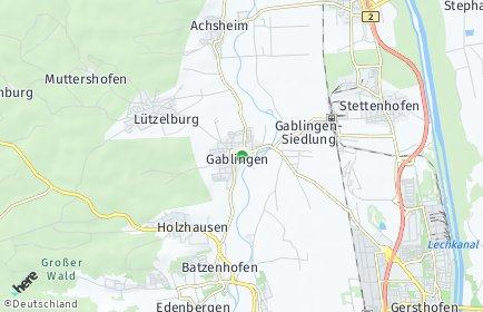 Stadtplan Gablingen