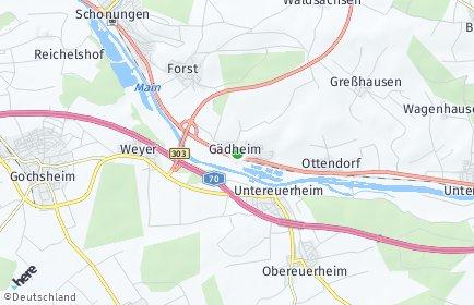 Stadtplan Gädheim
