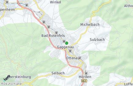 Stadtplan Gaggenau
