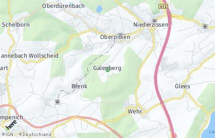 Stadtplan Galenberg