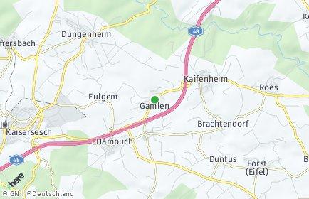 Stadtplan Gamlen