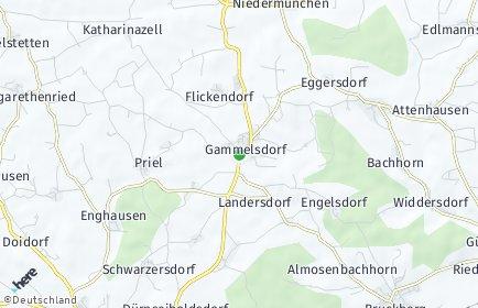 Stadtplan Gammelsdorf