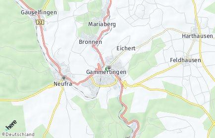 Stadtplan Gammertingen
