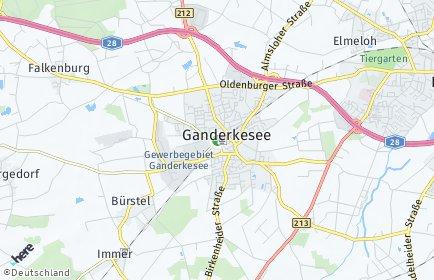 Stadtplan Ganderkesee