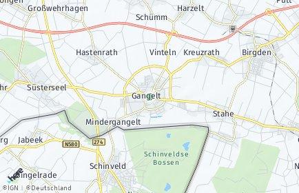 Stadtplan Gangelt