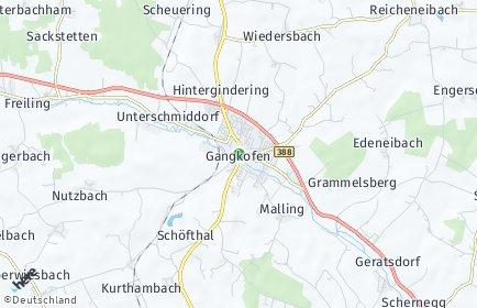 Stadtplan Gangkofen