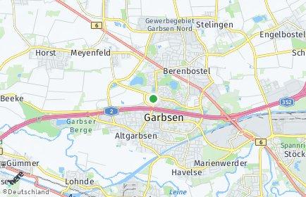 Stadtplan Garbsen