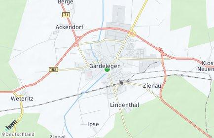 Stadtplan Gardelegen