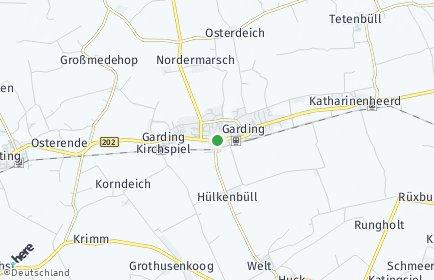 Stadtplan Garding