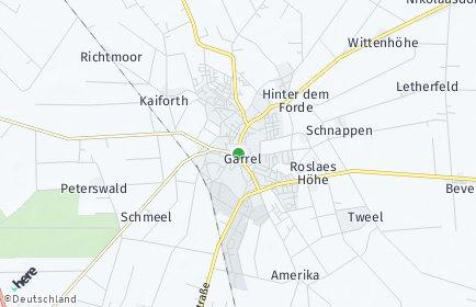 Stadtplan Garrel